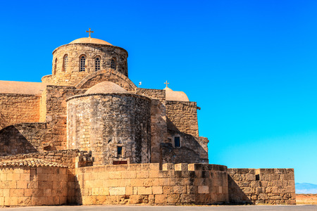 barnabas: Historic St. Barnabas Church in Cyprus.