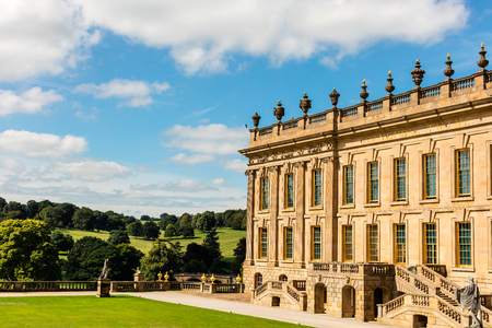 Historic English Stately Home in Derbyshire.