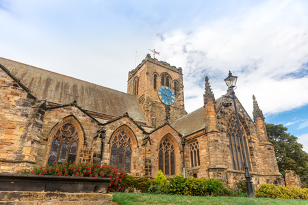 Historic St Marys Church in Scarborough, North Yorkshire stands high above the old town