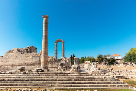 Apollonian temple is one of the most well preserved temple in Turkey, located in Didim at Aydn Province of Turkey.