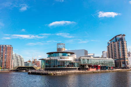 The Lowry at Salford Quays is the Greater Manchester`s most visited tourist attraction