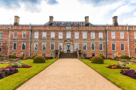 Erddig Hall an historic 17th century mansion in the midst of survived 18 century gardens and parkland in Shropshire is one of the finest stately homes in UK.