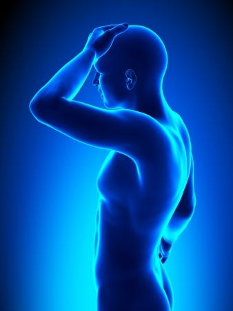 x ray image: Head pain - half detail