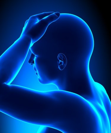 Head pain concept Stock Photo - 19244756