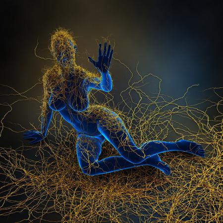 cell damage: Multiple Sclerosis - immunity system malfunction