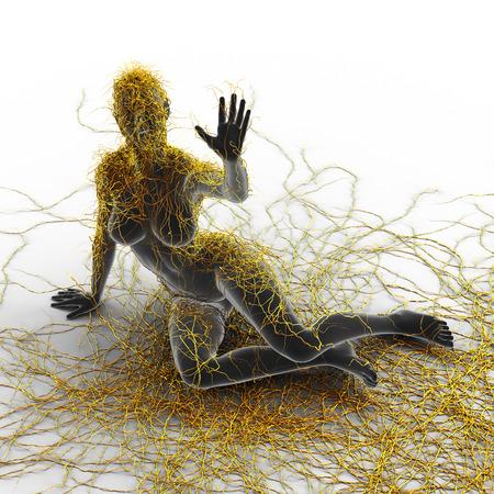 nervios: Esclerosis múltiple - Art Concept