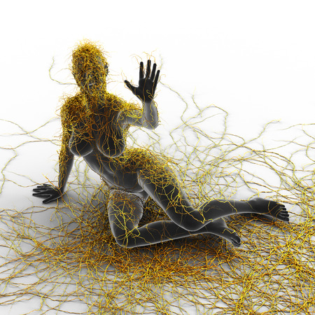 Multiple Sclerosis - Art Concept photo