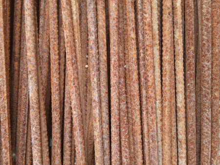 rebar: rusty rebar 3 Stock Photo