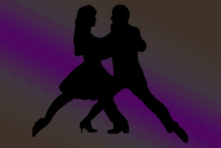 tango dance couple photo