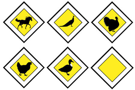priority: Animal priority signs Illustration