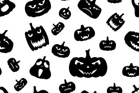 Seamless Halloween Background