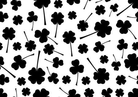 saint patrick's day: Seamless Saint Patrick s Day background Illustration