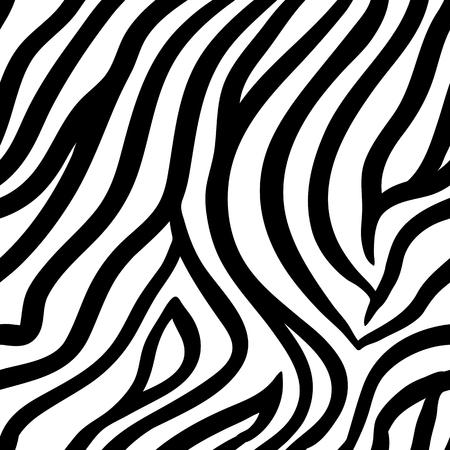 Zebra-abstrakter Hintergrund. Nahtloses Muster