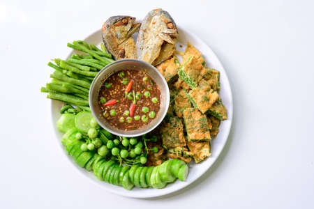 Mackerel Chili Paste is another popular dish for Thais and tourists visiting Thailand.