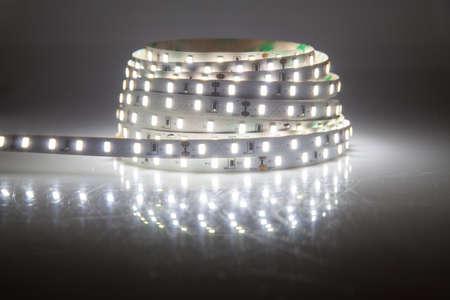 Glowing guirlande de LED, bande Banque d'images