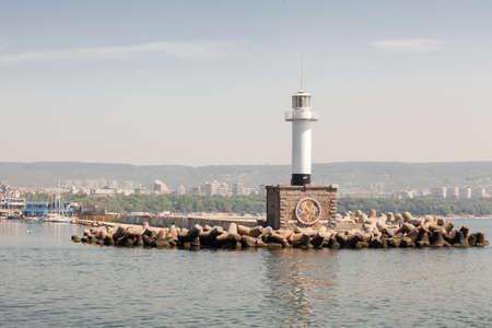 The lighthouse in Varna, Bulgaria photo