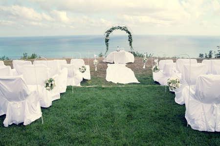 結婚式のための設定