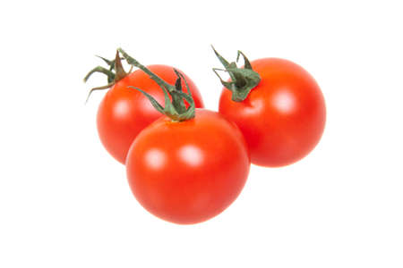 tomatoes, isolated on white