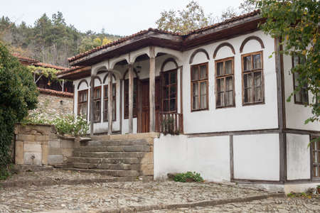 folk heritage: Old house in Zheravna (Jeravna). The village is an architectural reserve of Bulgarian National Revival period (18th and 19th century)