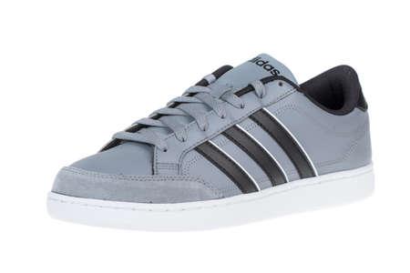 adidas: Varna , Bulgaria - APRIL 17, 2015 : ADIDAS VLSET shoe. Isolated on white. Product shots