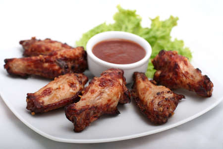 Chicken Wings with Red Sauce