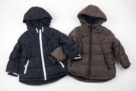 two child warm jackets