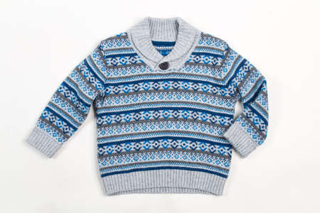 pullover: sweater for children Stock Photo