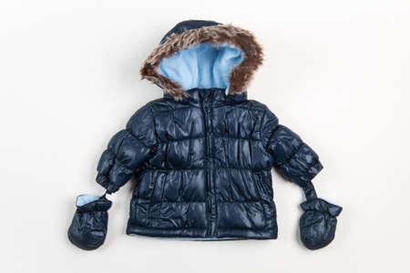 children's wear: Cute childrens winter jacket