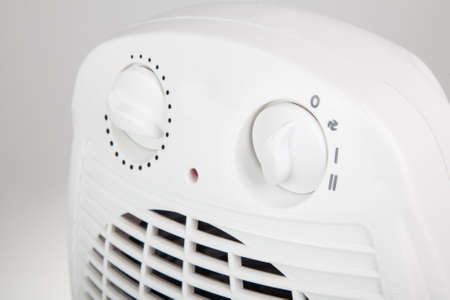 white space: close up of portable electric heater