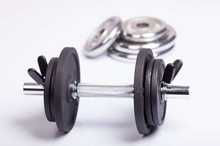 Dumbbell and barbell discs for workout