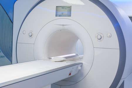 Magnetresonanztomographie (MRT) im Krankenhaus. Standard-Bild