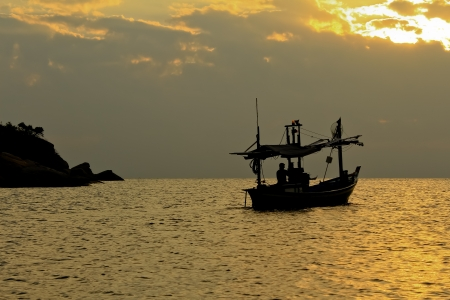 Fishing boat in thai sea, Thailand Stock Photo - 13986042