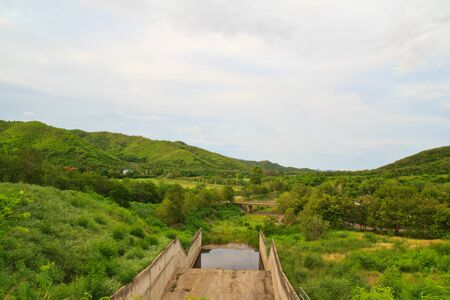 Thai landscape photo