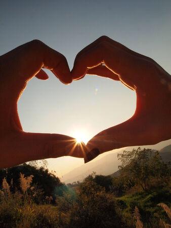 express feelings: Love