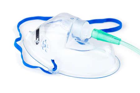 Hospital oxygen mask Banque d'images