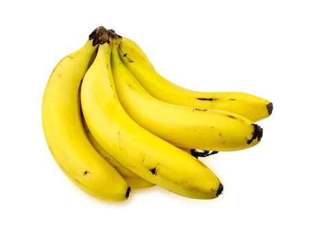 banana skin: Isolated bananas