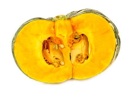 kent: Australian pumpkin cut in half