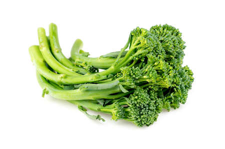 Broccolini isolated against white Stock fotó