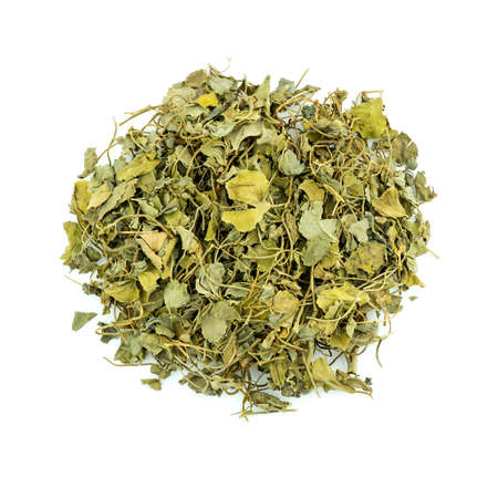 fenugreek: Macro closeup of fenugreek herb