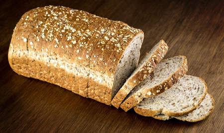 whole wheat: Loaf of whole wheat bread