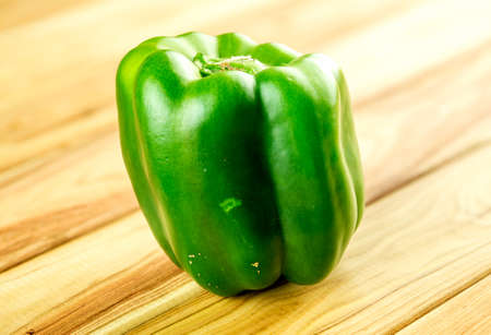 pimiento: Macro closeup of green bell pepper