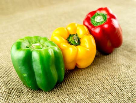 capsicum: Juicy colorful capsicum