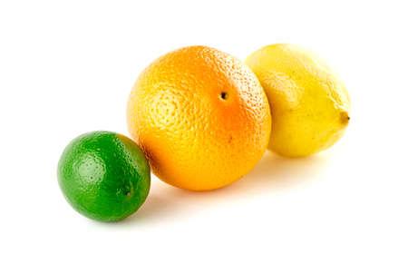 감귤류의 과일: Citrus fruits studio 스톡 사진
