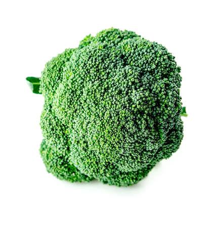 Macro of broccoli florets