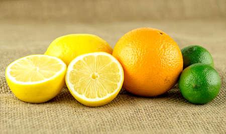 Farm fresh lemons and sweet orange