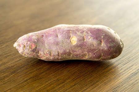 Gourmet purple colored sweet potato