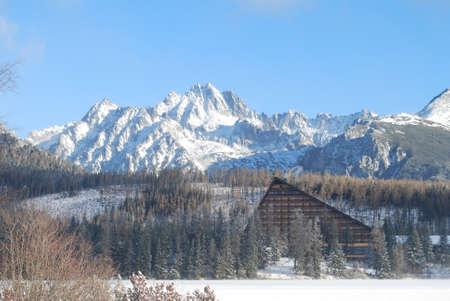 tatras: Mountains - High Tatras, Slovakia, Strbske Pleso, Hotel Patria