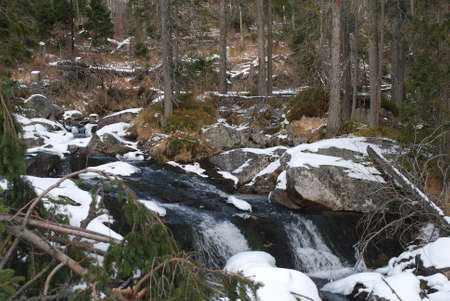 rivulet: Winter on river