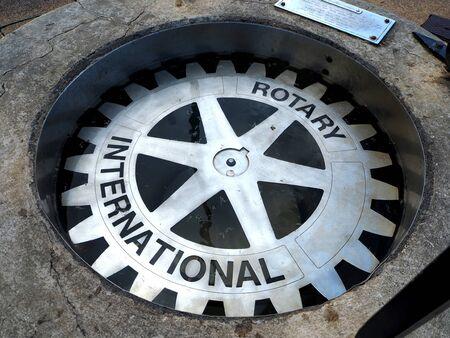 王の国際ロータリー公園。オーストラリア パース