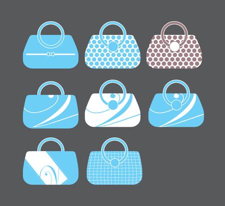 hobo: Womens Bag, Ladies handbag, Vector Illustration